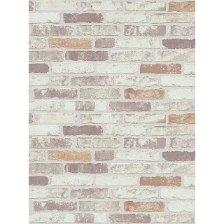 DW1036703-11 Beige Brick Wallpaper
