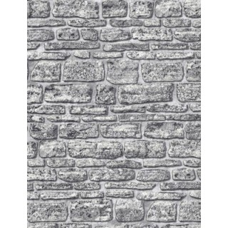DW1036704-10 Grey Brick Wallpaper