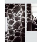 DW1036705-15 Black Stone Wallpaper