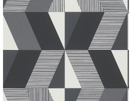 DW323303952 Black and White Wallpaper