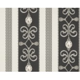 DW323891334 Black and White Wallpaper