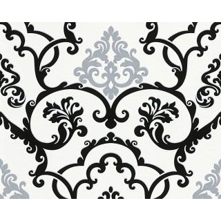 DW323955383 Black and White Wallpaper