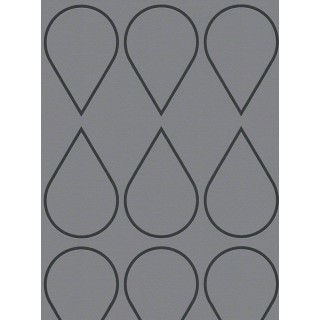 DW228940171 Black and White Wallpaper
