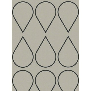 DW228940172 Black and White Wallpaper