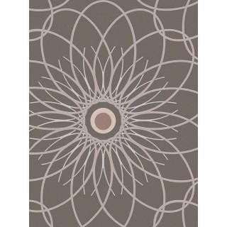 DW228940221 Black and White Wallpaper
