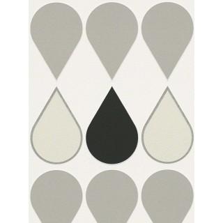DW228940232 Black and White Wallpaper