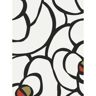 DW228940273 Black and White Wallpaper
