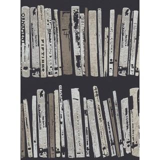 DW228944320 Black and White Wallpaper