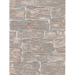 DW893438-26 Decora Natur 3 Wallpaper, Decor: Stone (With Golden Glitter)