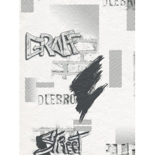 DW897372-12 Decora Natur 3 Wallpaper, Decor: Graffiti