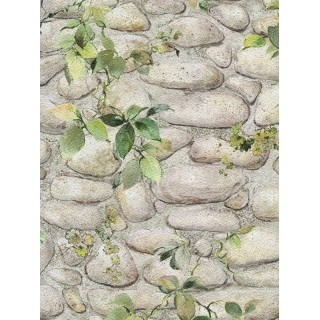 DW898344-16 Decora Natur 3 Wallpaper, Decor: Stone