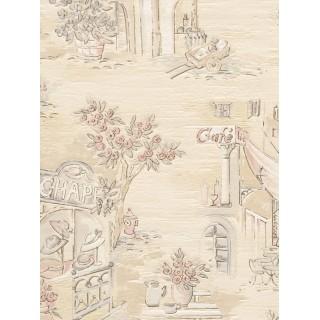 DW898569-20 Decora Natur 5 Wallpaper, Decor: Cafés