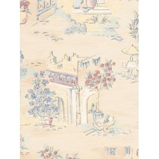 DW898569-37 Decora Natur 5 Wallpaper, Decor: French Village