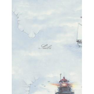 DW898608-28 Decora Natur 5 Wallpaper, Decor: Sail
