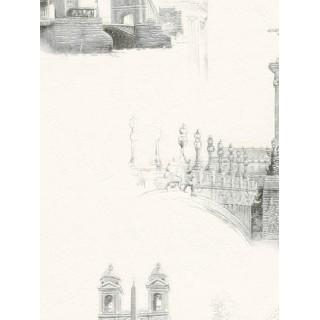 DW898609-10 Decora Natur 5 Wallpaper, Decor: Capitals