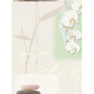 DW898771-16 Decora Natur 5 Wallpaper, Decor: Zen