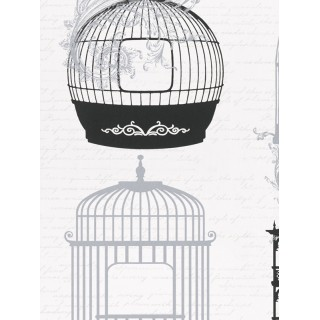 DW898945-26 Decora Natur 5 Wallpaper, Decor: Bird Cage