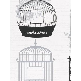 DW898945-26 Decora Natur 5 Wallpaper, Decor: Bird Cage
