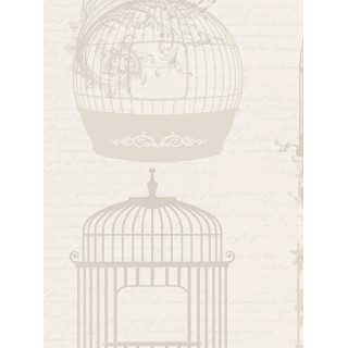 DW898945-33 Decora Natur 5 Wallpaper, Decor: Bird Cage