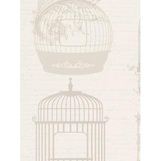 DW898945-33 Decora Natur 5 Wallpaper, Decor: Bird Cage
