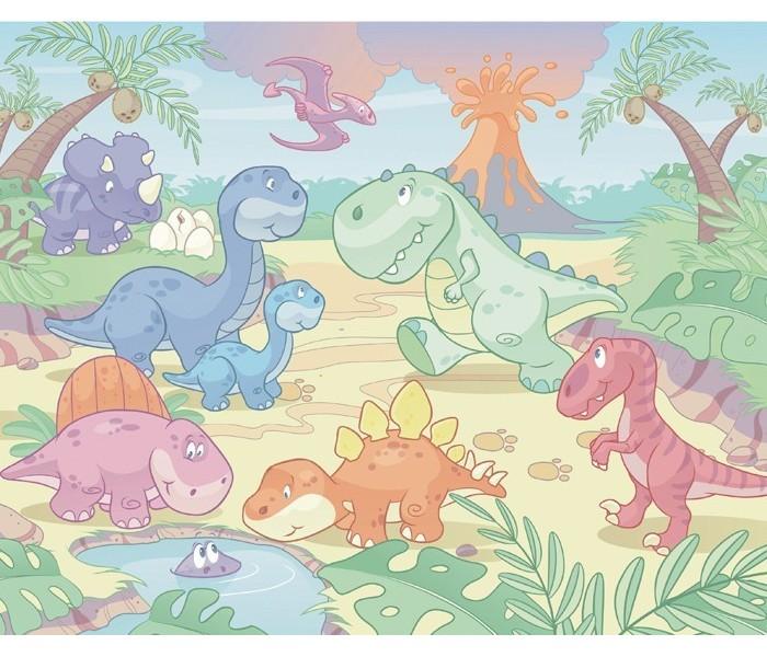 Murals Baby Dino World 40618