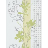 DW1076745-07 Green Floral Wallpaper