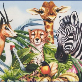Animal Wallpaper Borders