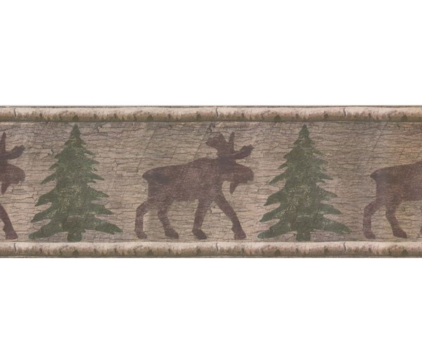 New Arrivals Animals Wallpaper Border 13227N Norwall