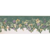 New  Arrivals Wall Borders: Leaves Wallpaper Border 138902