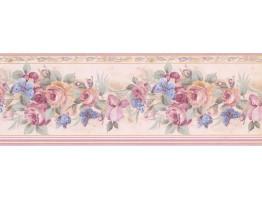 Roses Wallpaper Border 29427