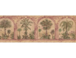 Palm Tree Wallpaper Border 29577