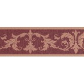 New  Arrivals Wall Borders: Damask Wallpaper Border 30150