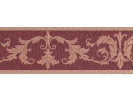 Prepasted Wallpaper Borders - Damask Wall Paper Border 30150