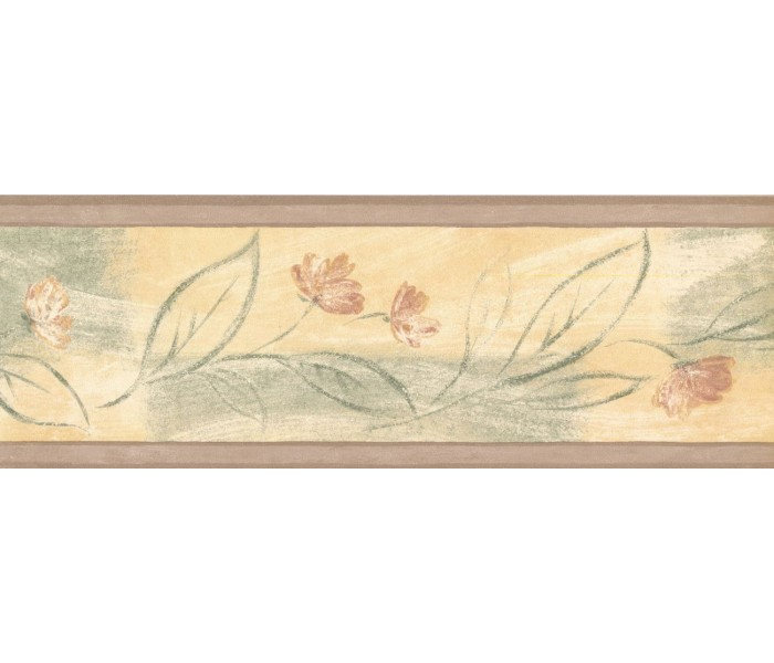 New  Arrivals Wall Borders: Floral Wallpaper Border 30868160