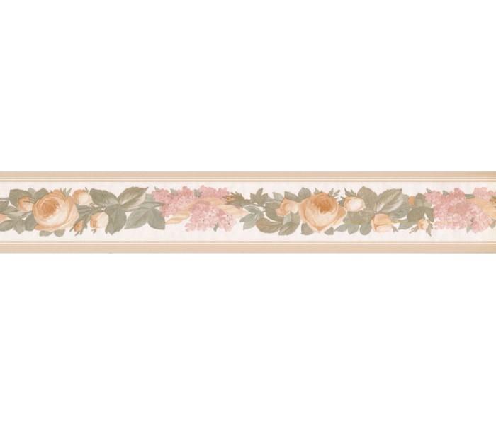 New  Arrivals Wall Borders: Floral Wallpaper Border 31616230