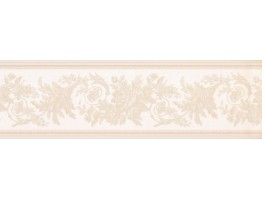 5.75 in x 15 ft Prepasted Wallpaper Borders - Floral Wall Paper Border 31616370