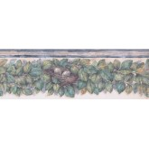 New  Arrivals Wall Borders: Leaves Wallpaper Border 375804737