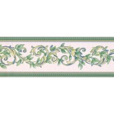 Prepasted Wallpaper Borders - Leaves Wall Paper Border 40926290