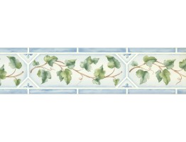 Prepasted Wallpaper Borders - Leaves Wall Paper Border 5504161