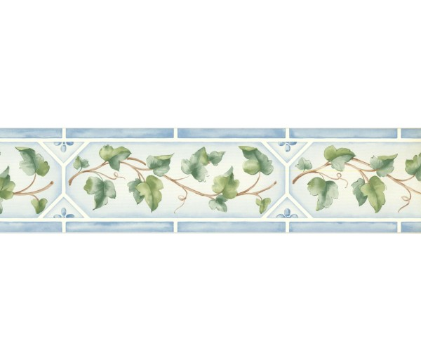 New  Arrivals Wall Borders: Leaves Wallpaper Border 5504161