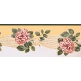 New  Arrivals Wall Borders: Floral Wallpaper Border 5504392
