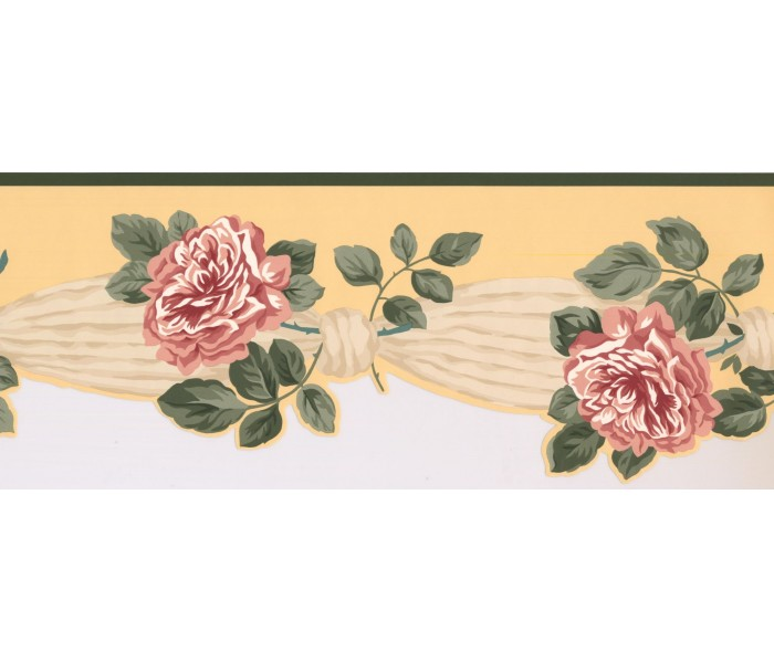 New  Arrivals Wall Borders: Floral Wallpaper Border 5504392