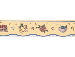 Prepasted Wallpaper Borders - Kitchen Wall Paper Border 5505671