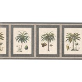 New  Arrivals Wall Borders: Palm Tree Wallpaper Border 5506272