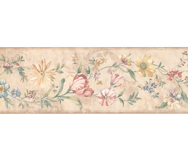 New  Arrivals Wall Borders: Floral Wallpaper Border 5506631