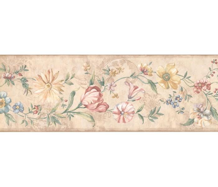 New  Arrivals Wall Borders: Floral Wallpaper Border 5506631