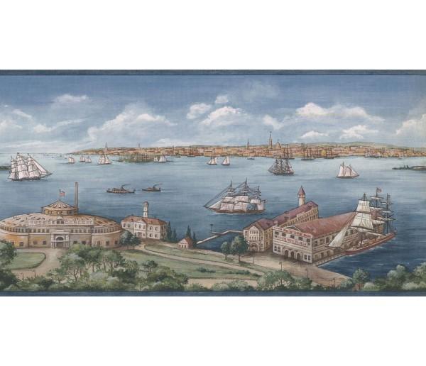 New  Arrivals Wall Borders: Ships Wallpaper Border 5506870