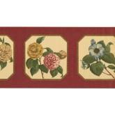 New  Arrivals Wall Borders: Floral Wallpaper Border 5507233