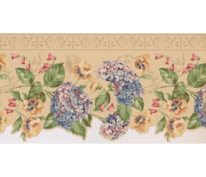 New  Arrivals Wall Borders: Floral Wallpaper Border 5507330