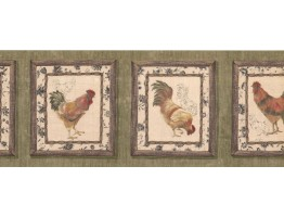 Rooster Wallpaper Border 5507800